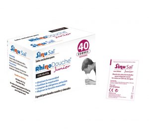 Productos Irrigacion Nasal. Sinusal Junior